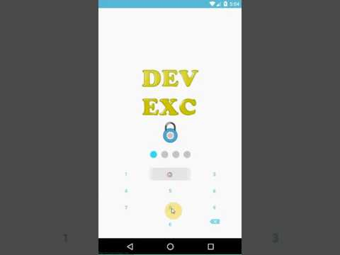 Create a lock screen inside Android application - Learn Programming