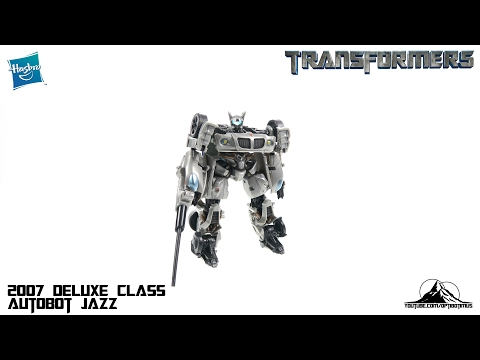 Optibotimus Looks Back Episode 02: 2007 Transformers Deluxe Class JAZZ