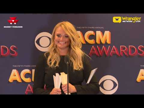 2018 ACM Female Vocalist of the Year, Miranda Lambert
