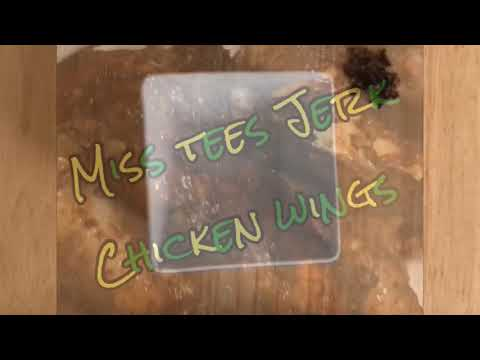 THE BEST  JERK CHICKEN WINGS