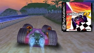 Rollcage II Review - Futuristic Racing game for PS1