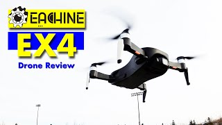 Eachine EX4 Drone - 3 Axis Camera Gimbal & 4K Photos - Indoor/outdoor flight Review