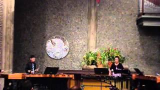 2012 Jr. Bach Festival TOCCATA & FUGUE: D Minor, Marimba quarte,