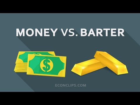 Money vs. barter #characteristics of money
