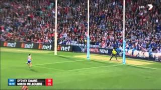 Preliminary Final 1 - Sydney Swans v North Melbourne