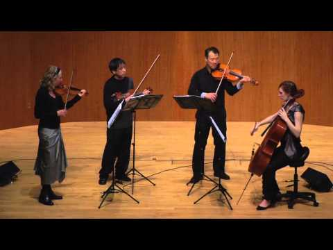 Del Sol String Quartet performs These Memories May Be True by Lembit Beecher