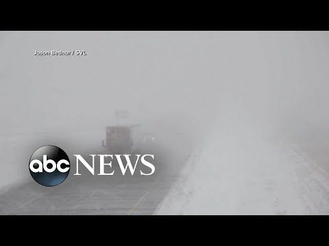 Heavy snow hits Midwest amid record-breaking cold