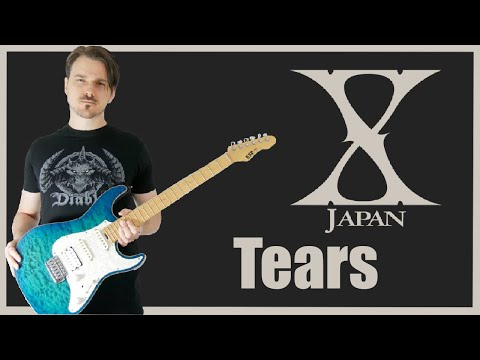 X Japan - Tears Solo (Guitar Cover HD)