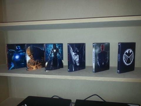 The Complete Avengers Blu-ray Slipcover Villain Set Iron Man Incredible Hulk Thor Captain America