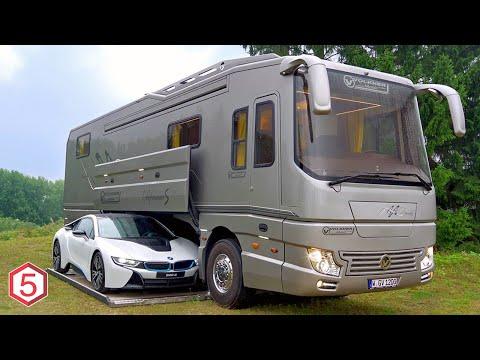 6 Mobil Rumah Paling Mewah Dengan Fasilitas Hotel Bintang 5, Ada Garasinya Di Dalam Mobil!