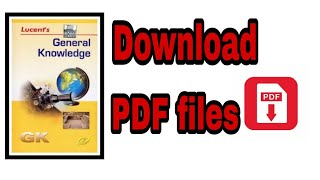 Lucent's English Genaral knowledge pdf file