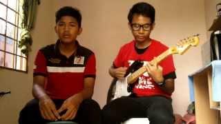 Aizat - Jerrypah Guitar Cover [Mr. JJ ft DomoNeko!]