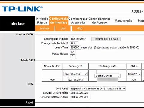Tutorial Como Mudar O Dns Do Modem Roteador Adsl2 Tp Link