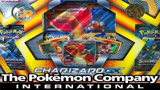 THANKS TO THE POKEMON COMPANY INTERNATIONAL FOR THIS AMAZING CHARIZARD GX BOX!