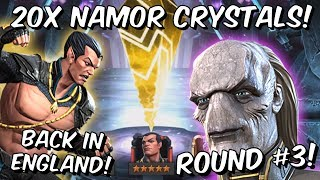 20x 6 Star Namor Cavalier Featured Crystal Opening Round #3! - Marvel Contest of Champions