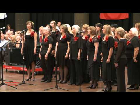 Buxton Military Tattoo 2012 - 'Hero' sung by Rolls-Royce Ladies Choir