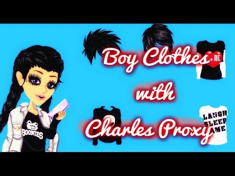 How to get boy clothes // Charles Proxy// MSP