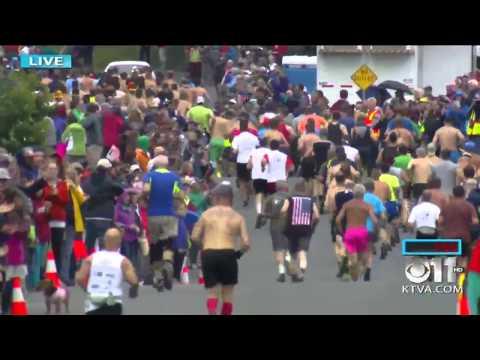 2015 Mt. Marathon Men's Race in Seward, Alaska