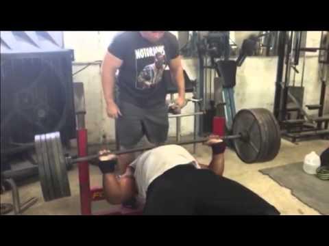 Big Al Davis, 495 X 8 Reps Raw Bench Press