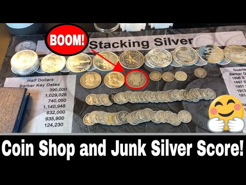 Local Coin Shop LCS Pickup and Junk Silver Hunt and Score!