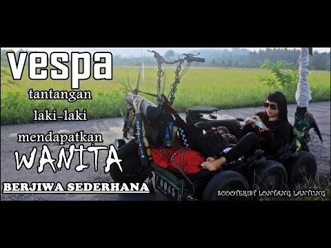 Beautiful Ladies Indonesian Scooter Vespa Piaggio Youtube