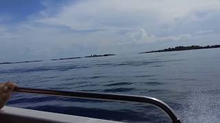 Speed Boats Ride in Maldives