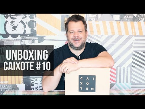 Unboxing Caixote 10 - Clube de Assinatura Decor e DIY