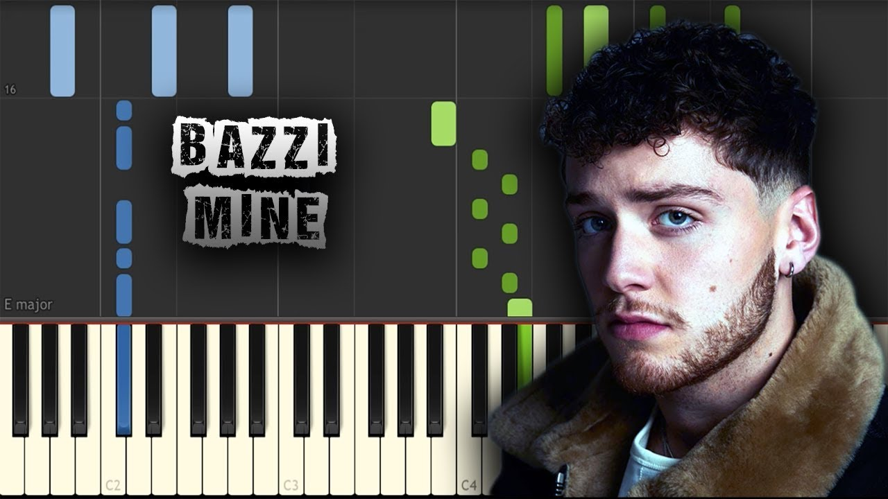 download song mine by bazzi