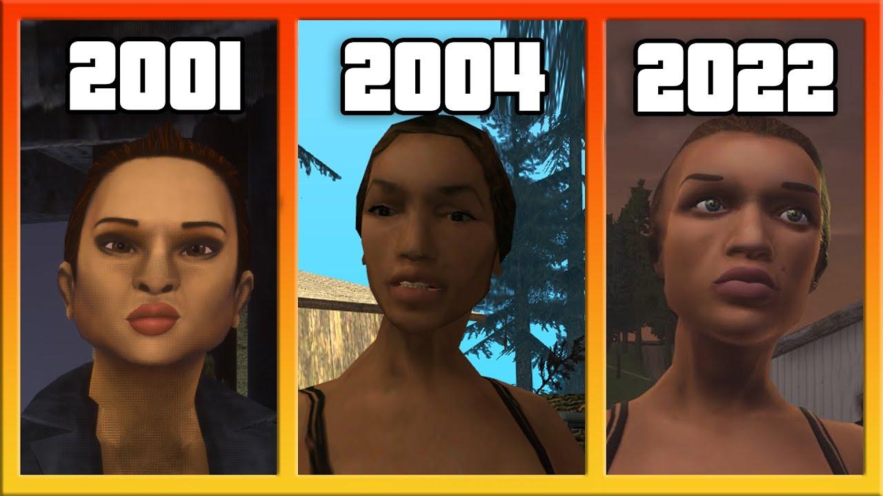 GTA Karakterlerinin Oyunlar İçindeki Değişimi ve Hikayeleri