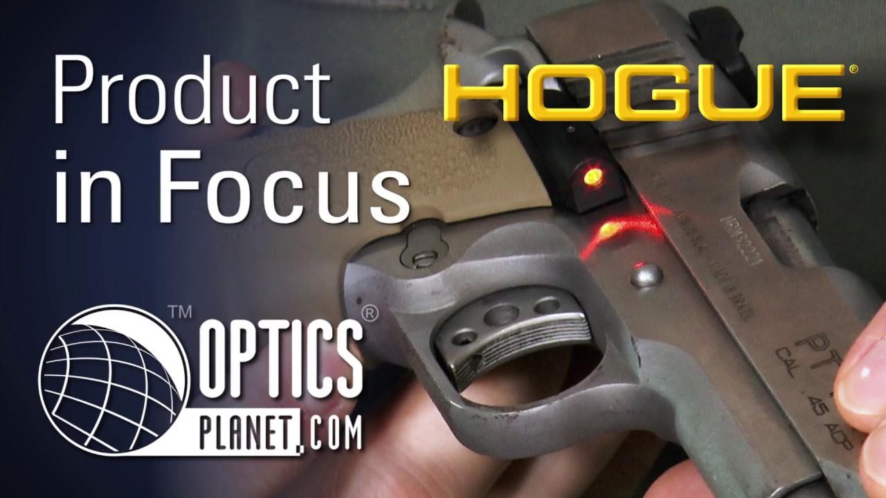 Hogue 1911 Grip Laser & Holster - Product in Focus - OpticsPlanet com