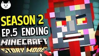 Minecraft Story Mode Season 2 - THE SERIES ENDING - (Minecraft Story Mode Season 2 Episode 5 END)