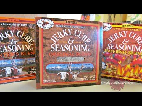 How To Make Venison Jerky With Hi Mountain Seasoning Youtube