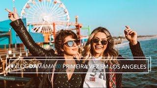 MINHA PRIMEIRA VEZ em LOS ANGELES! 🇺🇸