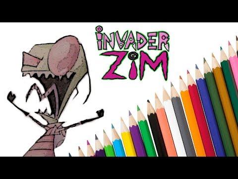 invader-zim-|-full-drawing