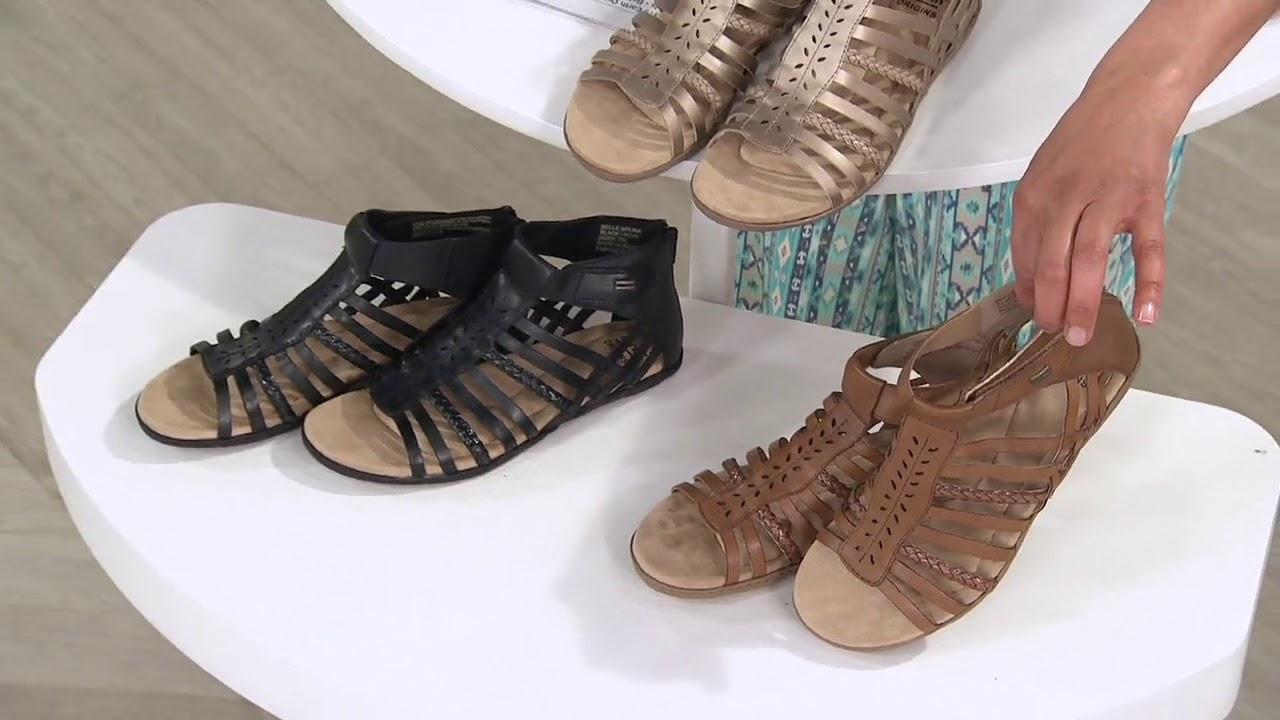 Earth Origins Leather Gladiator Sandals