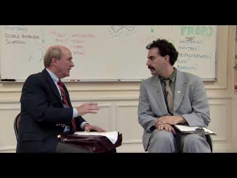 """Borat On """"Not Jokes"""""""