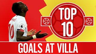 Top 10: The best Liverpool goals at Aston Villa | Gerrard, Mane, Litmanen