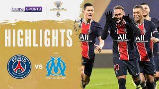 PSG 2-1 Marseille | Trophée des Champions 2020 Match Highlights