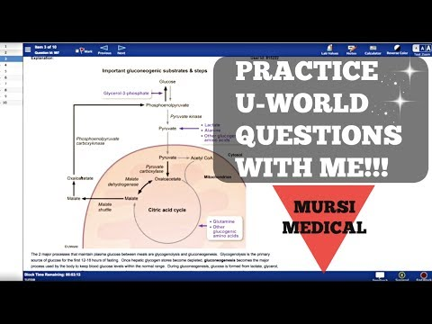 PRACTICE STEP 1 U-WORLD QUESTIONS WITH ME