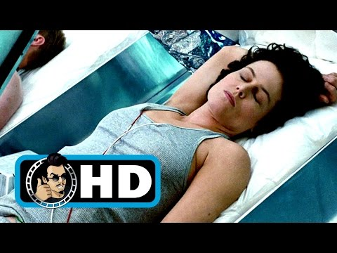 The Crew Wakes Up  ALIENS Movie  1986 Sigourney Weaver SciFi Horror Movie HD