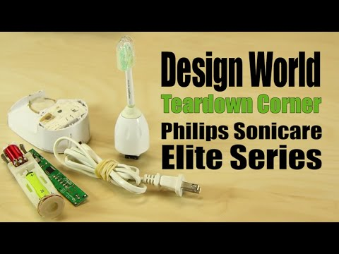 Teardown: Philips Sonicare Elite Series Electric Toothbrush