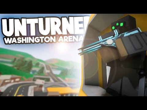 Unturned: Washington Arena Gameplay! - A FIGHT TO THE DEATH