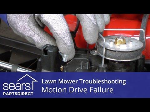 Lawn Mower Won't Move: Motion Drive Failure