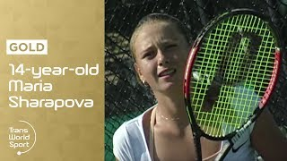 14-year-old Maria Sharapova on Trans World Sport