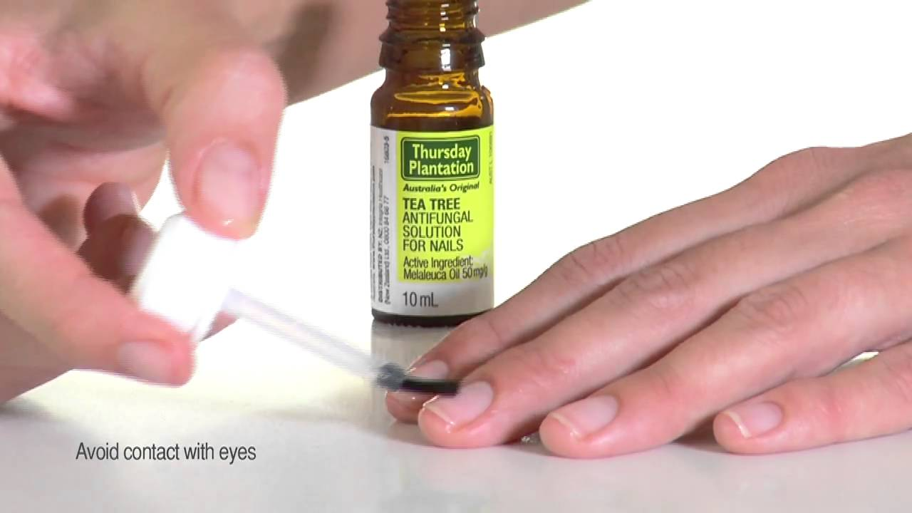 Thursday Plantation Natural Solution For Nail Infections - YouTube