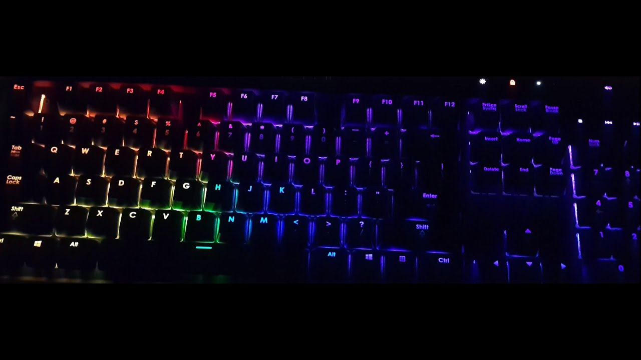 Corsair K70 RGB 2016 - Software download and install