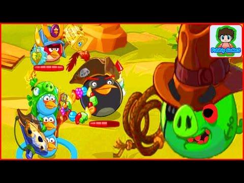 Игра Angry Birds Epic от Фаника злые птички эпик 13 Свинья авантюрист