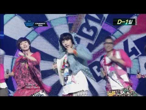 110922 B1A4  - Chu Chu Chu + Beautiful Target @ Μсòüηтdówп