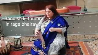 Canto indiano al Conservatorio di Vicenza -thumri veloce