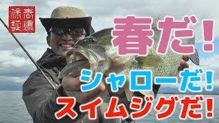 【琵琶湖バス釣り】春だ!シャローだ!スイムジグだ! 舞木雅和